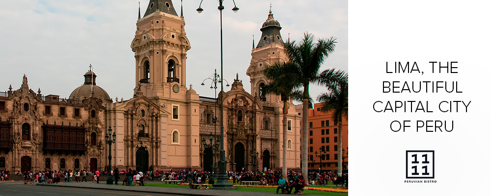 Historical center in Lima